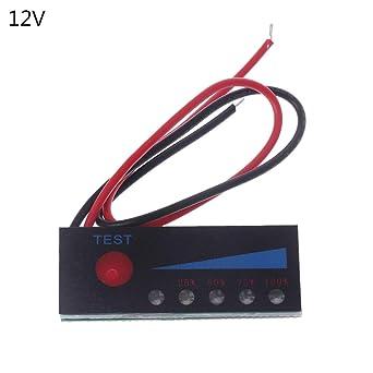 3.7V 2S-4S 18650 Lithium 12V Lead Acid  Power Tester Battery Capacity \\