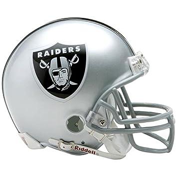 cf4f2c71d6f Oakland Raiders Mini Official Riddell NFL Helmet  Amazon.co.uk  Sports    Outdoors