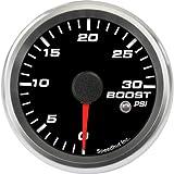 Speedhut GR26-BS09 Boost Gauge 0-30psi (With Warning LED), 2-5/8''