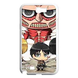 Samsung Galaxy N2 7100 Cell Phone Case White Attack On Titan Clouds GY9102019