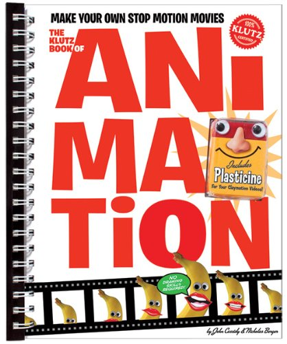 The Klutz Book of Animation: Make Your Own Stop Motion Movies (Free Animation Factory)