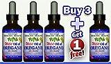 Buy 3 Get 1 Free''Extra Strength'' Wild Mediterranean Turkish 100% Eco Certified Organic Oil of Oregano 85% Carvacrol