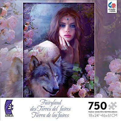 Fairyland: Midnight Rose - 750 Piece Jigsaw Puzzle: Toys & Games