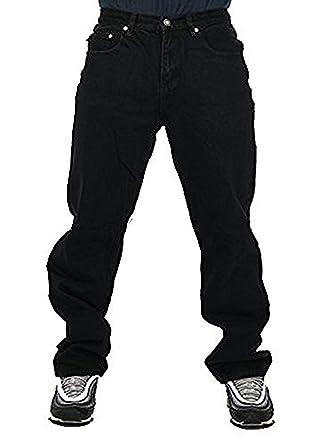 5627345e Georgia Peviani Mens Black Jeans, Straight fit bar Rock g Plain Basic  Premium Weight Trousers, Star wash Pants Made: Amazon.co.uk: Clothing