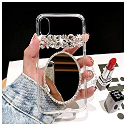Mirror Twinkle Rhinestone iPhone Cover