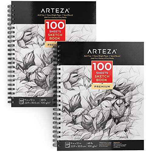 ARTEZA 9X12 Sketch Book