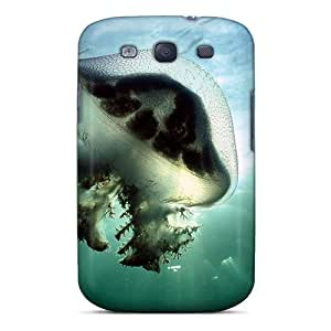 For Galaxy S3 Fashion Design Mauve Stinger Jellyfish Australia Case-pcBsB2335qwVWb