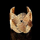 New Fashion Womens Vintage Gold Silver Bangle Punk Cuff Bracelet Jewelry#by pimchanok shop (Styles#27)