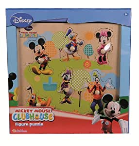 Eichhorn 100003302 Mickey Mouse - Puzzle de madera