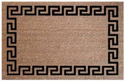 Amazon Com Palm Fibre Private 24x36greek Coir Doormat Garden Outdoor