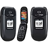 Verizon Wireless Cell Phone Samsung Gusto U360 U 360 Black with Camera No Contract Required Works on Verizon Wireless or Page Plus Network Only