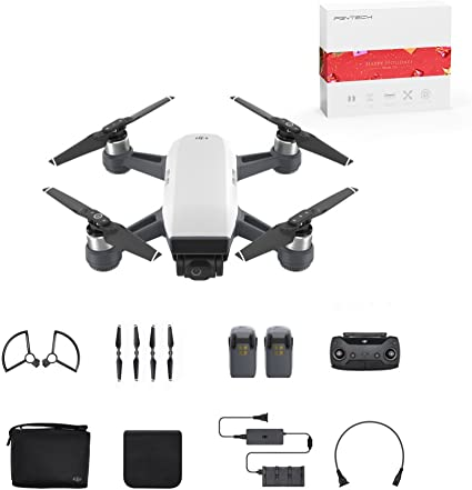 Amazon.com: DJI Spark Mini Quadcopter Drone Fly más Combo ...