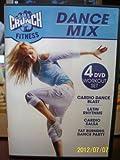 Crunch Fitness Dance Mix 4 DVD Workout set Includes Cardio Blast / Latin Rhythms / Cardio Salsa / Fat Burning Dance Party