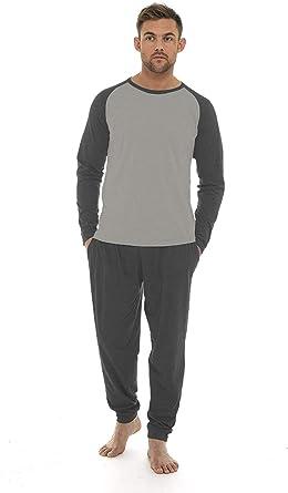 CityComfort Pijama Invierno con mangas largas para Hombre