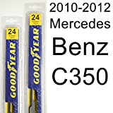 Mercedes Benz C300 (2010-2012) Wiper Blade Kit - Set Includes 24'...