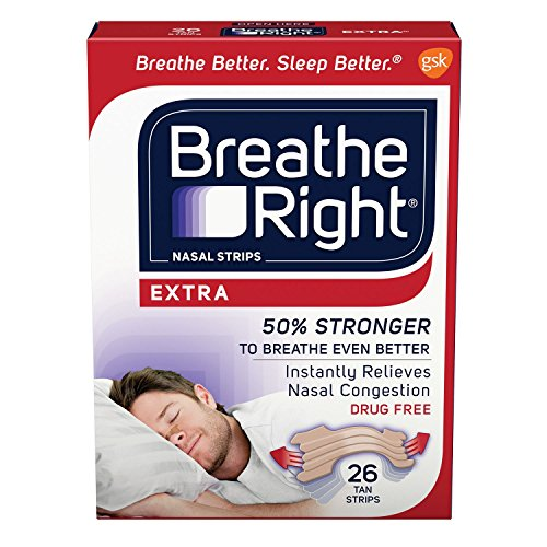 Breathe Right Drug Free Strips Congestion product image