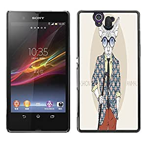 Dragon Case - FOR Sony Xperia Z L36H - ?depends on your dreams - Caja protectora de pl??stico duro de la cubierta Dise?¡Ào Slim Fit