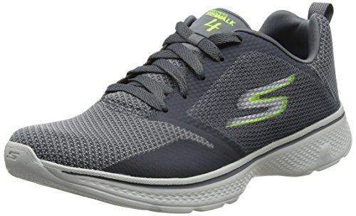 legna Walk Sneakers solar uomo Go 4 da di carbone Skechers Grigio lime fqwFv5