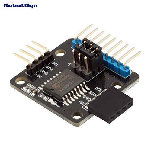 RobotDyn - 8 Channel I/O port expander - expansion board module, 8-bit IC PCA8574 - PCA8574AD