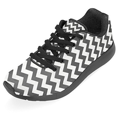 Interestprint Kvinna Jogging Kör Sneaker Lättvikts Gå Gång Casual Komfort Sports Löparskor Multi 24