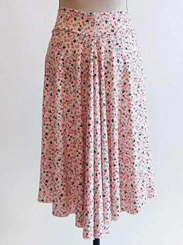 Falda de tango con cola de pez floral con hermoso estampado ...