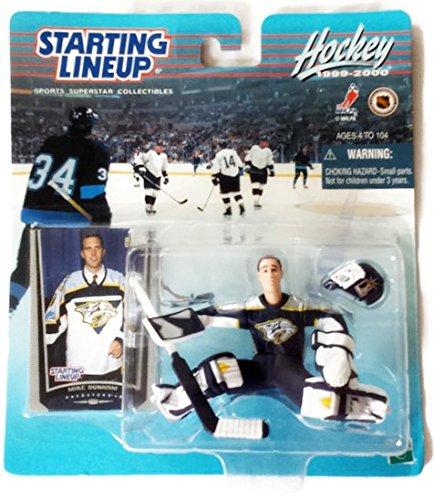 (Starting Lineup Sports Superstar Collectibles - Hockey 1999-2000 Mike Dunham Predators Goalie)