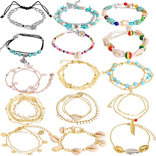 Hicdaw Shell Anklet...