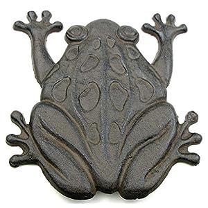 Cast Iron Frog Stepping Stone Stones Home Decor Garden Art Wall