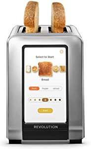 Revolution Cooking R180 High-Speed Smart Toaster The world's first high-speed smart toaster with touchscreen display will revolutionize the way you toast!