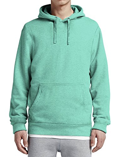 - Ma Croix Mens Pullover Hoodie Fitted Blended Fleece (X-Large/ ma19_Aqua)