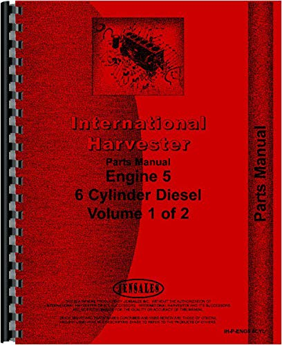 International Harvester D466 Engine Parts Manual