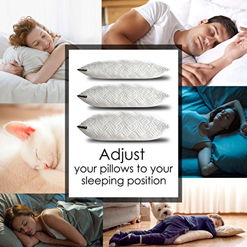 TRANZZQUIL Hypoallergenic Bed Pillows Bed Pillows