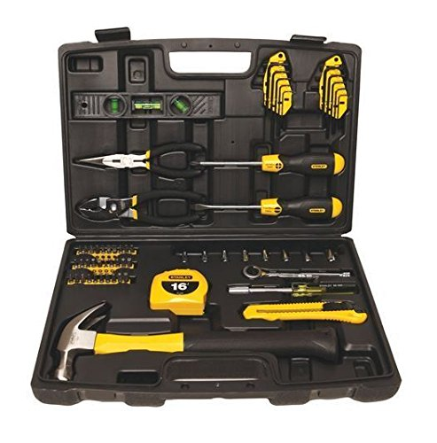 65-Piece-Tool-Kit-Set-Homeowner-Home-New-Hammer-Case-Screwdriver-Repairs-Basic-GH45843-3468-T34562FD120479