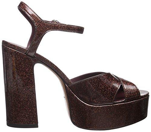 ... Marc Jacobs Kvinners Debbie Plattform Sandal Plattform Pumpe Brun