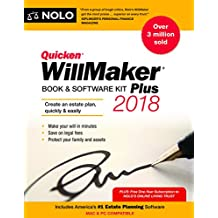 Quicken Willmaker Plus 2018 Edition: Book & Software Kit