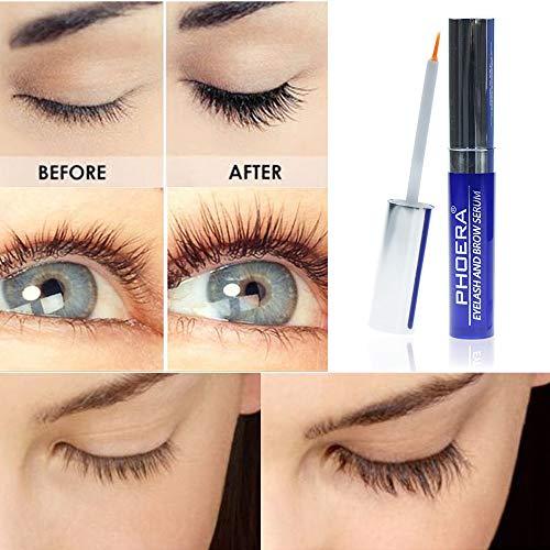 Eyelash Growth Serum Most Effective Eyelash Booster for Longer Fuller Eyelashes (2.5 ml)