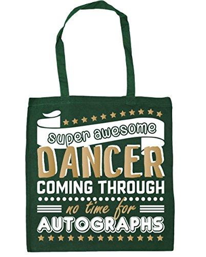 HippoWarehouse Bag 42cm Autographs x38cm Shopping Dancing Awesome Super Tote Gym No For Through Beach 10 Time Bottle litres Dancer Green Coming aZaxnr86