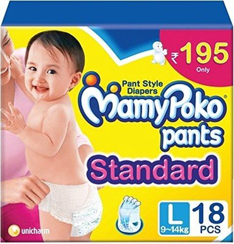 Mamy Poko Pants Standard - Large (18 Pieces)