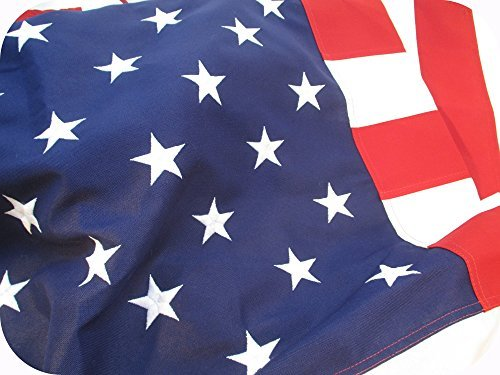 AMERICAN FLAG HEAVY DUTY 4x6 PREMIUM Commercial Grade 2 ply PolyMax Polyester The BEST US FLAG 100% Made in USA Tough Durable Fade Resistant All Weather SEWN STRIPES EMBROIDERED STARS - Stores In Usa Popular