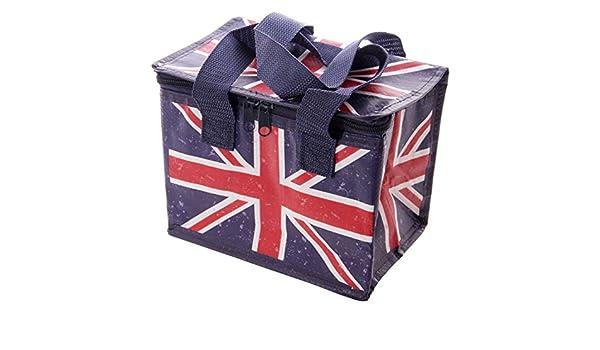 Borsa termica Frigo per il Pranzo Ted Smith con Bandiera Inglese Union Jack: Amazon.es: Bebé