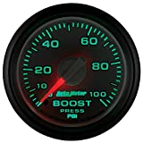 """Auto Meter 8506 Factory Match 2-1/16"""" 0-100 PSI Mechanical Boost Gauge for Dodge"""