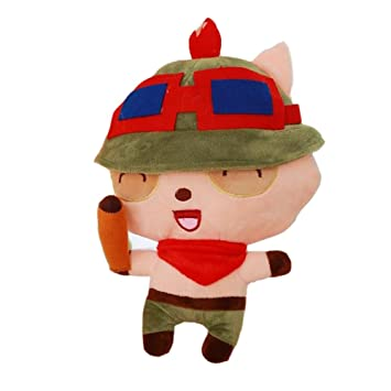 LEAGUE OF LEGENDS LOL - PELUCHE TEEMO THE SWIFT 27cm / TEEMO THE SWIFT PLUSH 11""