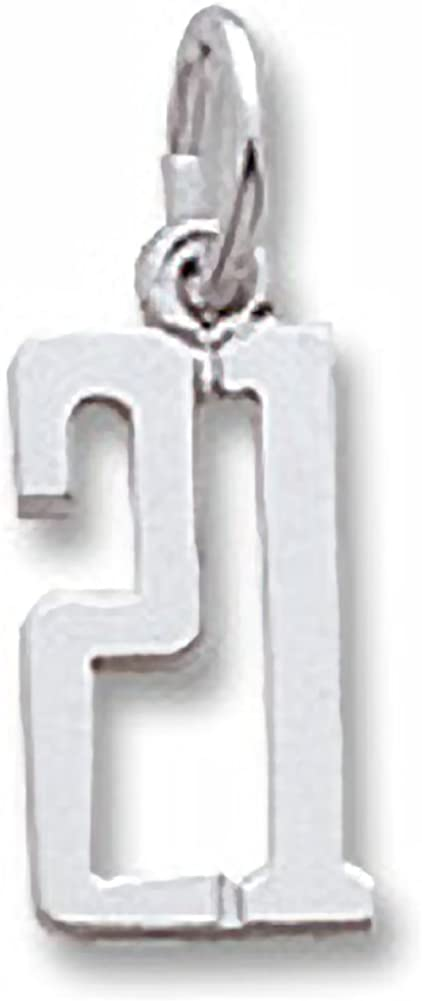 Number 21 Charm Charms...