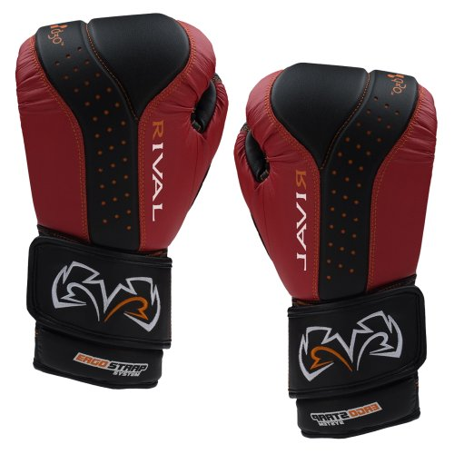 Rival d3o Intelli-Shock Bag Gloves - Medium - Black/Red