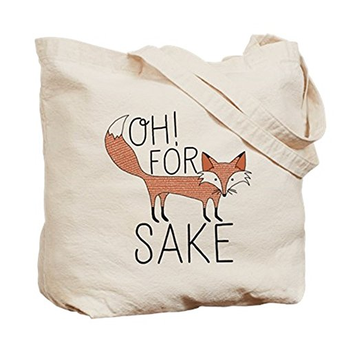 CafePress Oh For Fox Sake Tote Bag - Standard Multi-color by CafePress