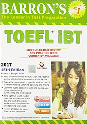 Barrons Toefl Ibt Book
