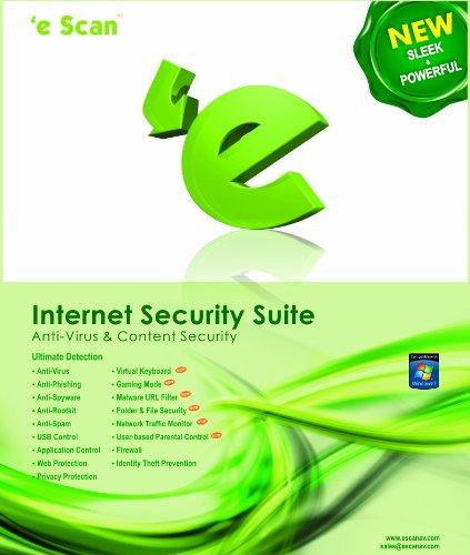 eScan Internet Security Edition for Home User 5 user 2 year [Download] by Microworld technologies Inc