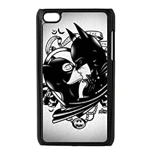 YUAHS(TM) New Cell Phone Case for Ipod Touch 4 with Batman and Catwoman YAS925604