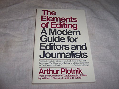 Download The Elements Of Editing Book Pdf Audio Id Jnko679