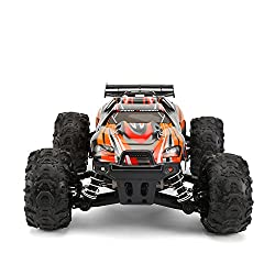 FunTech Rc Cars, RC Electric Racing Car, Remote Control Off...